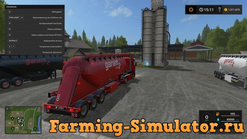 Мод прицеп KOTTE FELDBINDER V1.0.0.0 Farming Simulator 17