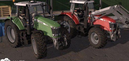 Мод трактор MASSEY FERGUSON 7700 PACK V1.1 FS17
