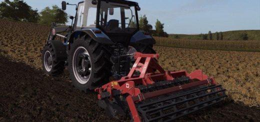 Мод культиватор METALFACH U741 3M V1.0 Farming Simulator 2017
