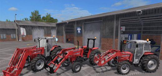 Мод ПАК MASSEY FERGUSON 300 SERIES PACK V1.0 Farming Simulator 2017