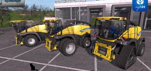 Мод комбайн NEW HOLLAND FR850 LITE V1.0 Farming Simulator 2017