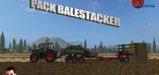 Мод ПАК PACK BALESTACKER V1.0 Farming Simulator 2017