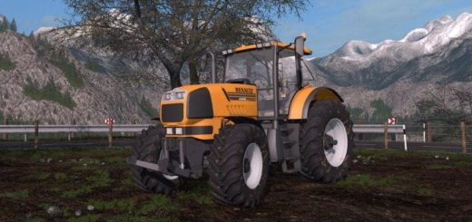Мод трактор RENAULT ATLES 925RZ V1.1 Farming Simulator 2017