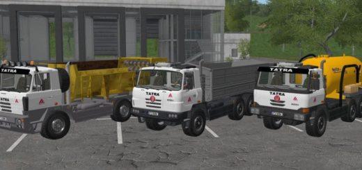 Мод ПАК TATRA 815-2, TERRNO1 A FACELIFT AGRO MERIN Farming Simulator 2017