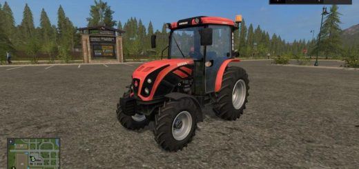 Мод трактор URSUS 5044 V1.0 Farming Simulator 2017