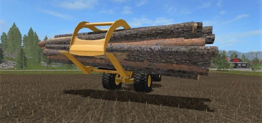 Мод WHEELLOADER LOG FORK V2.0.1.8 Farming Simulator 17