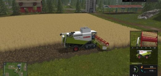 Мод ПАК CLAAS LEXION 580/600 TT PACK V1.0.0 FS17