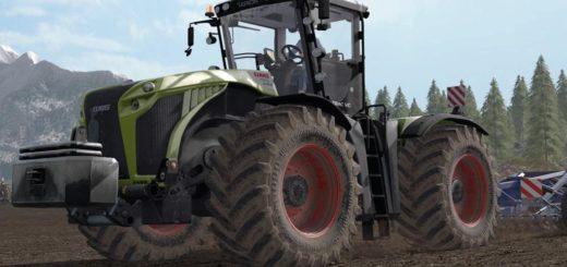 Мод трактор CLAAS XERION V1.1.0.0 FS17