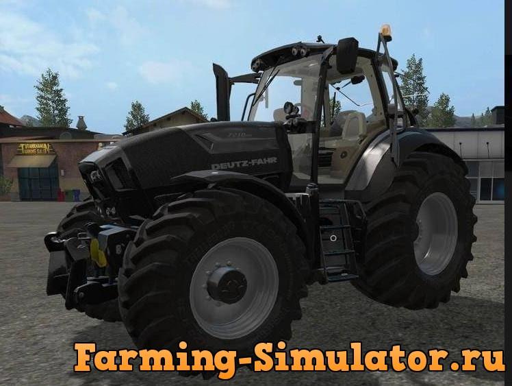 Мод трактор DEUTZ FAHR SERIES 7 DH V1.1.1 FS17