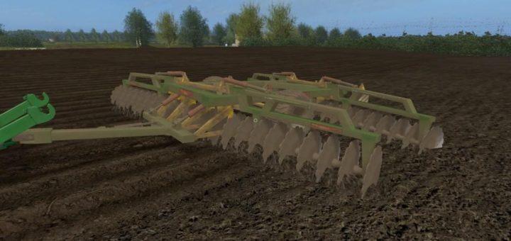Мод культиватор FRADISC 6000 V1.0 Farming Simulator 17