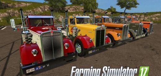 Мод грузовик KENWORTH 521 V1.1.0 Farming Simulator 17