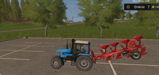 Мод трактор МТЗ 1221.2 v 2.1 Фарминг Симулятор 2017