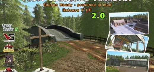 Мод карта FORESTRY - SEASON READY V2.0 Farming Simulator 17