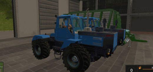 Мод трактор ХТЗ Т 150 К v1.2 Фермер Симулятор 2017