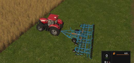 Мод культиватор КБМ-8ПС v1.0 Фермер Симулятор 2017
