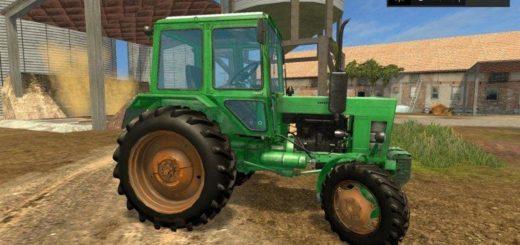 Мод трактор МТЗ MTZ-82 V2.0 Фермер Симулятор 2017