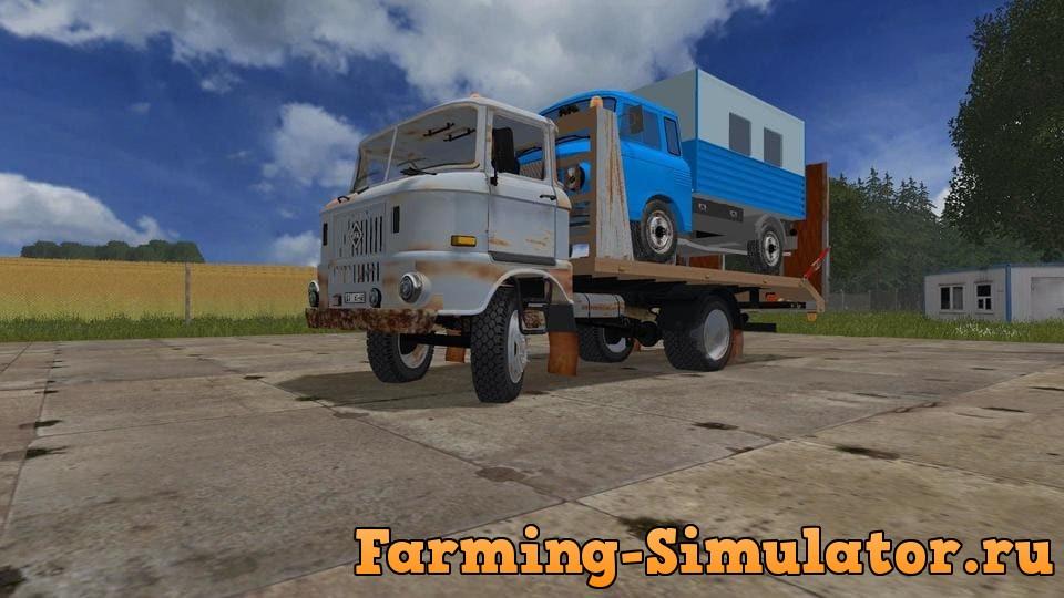 Мод грузовик IFA W 50 ABSCHLEPPER V1.0 Farming Simulator 2017