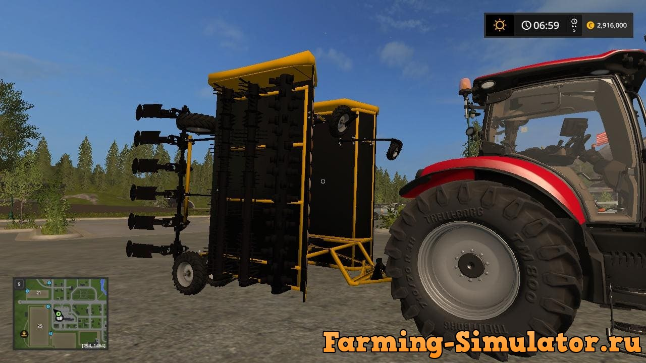 Мод ботвоудалитель ALLOWAY BEET TOPPER V2.0 Farming Simulator 2017