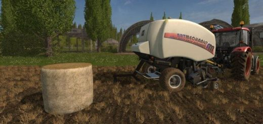 Мод тюкопресс ARTMECHANIC ROLL-BELT EASY COLLECT V1.0 FS17