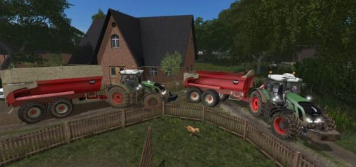 Мод прицеп BECO MAXXIM 200 V1.0 Farming Simulator 2017