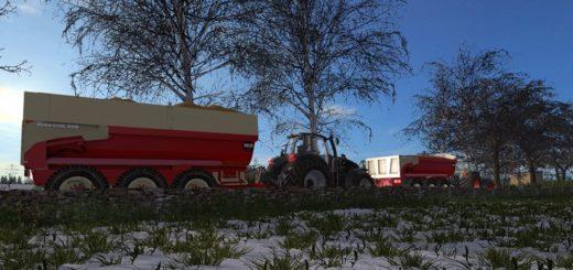 Мод прицеп BECO MAXXIM 300 V1.0 Farming Simulator 2017