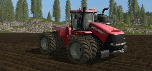 Мод трактор CASE STEIGER V4.0 Farming Simulator 2017