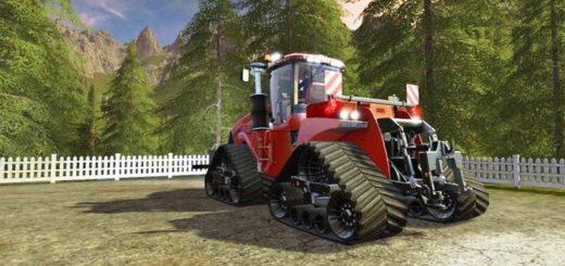 Мод трактор CaseIH QuadTrac 1000 TheRedBaron v1.2.0 FS17