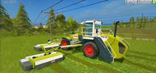 Мод сенокосилка Claas Cougar 1400 Farming Simulator 17