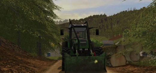 Мод трактор FENDT 209 FORST EDITION V1.5.3.1 FS17