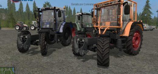 Мод трактор Fendt 380 GTA v4.0 Farming Simulator 2017