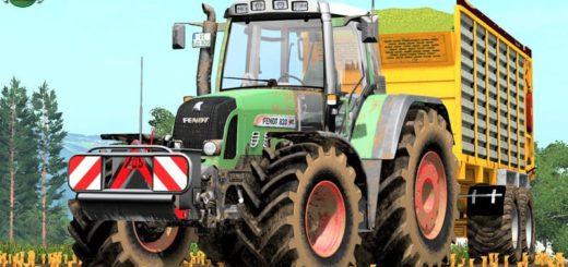 Мод трактор FENDT 820 VARIO TMS V1.4.0.0 FS17