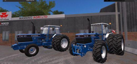 Мод ПАК Ford TW Pack v1.2.0 Farming Simulator 2017