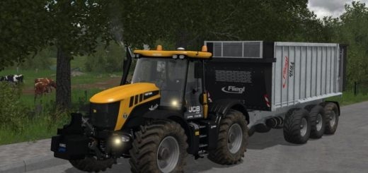Мод трактор JCB 3230 XTRA V1.1 Farming Simulator 2017