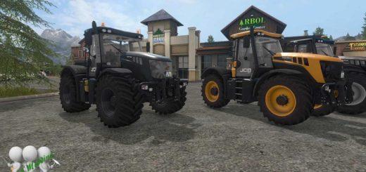 Мод трактор JCB FASTRAC 3000 XTRA v 1.5.1 DH BY BONECRUSHER6 FS17