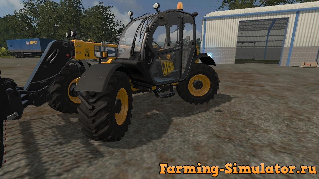 Мод погрузчик JCB536 70 V2.0.0.0 Farming Simulator 2017