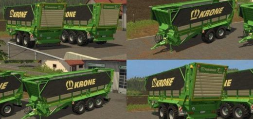 Мод ПАК прицепы KRONE TX PACK DH V1.0 Farming Simulator 2017