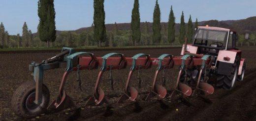 Мод плуг KVERNELAND BE 6 V1.0 Farming Simulator 2017