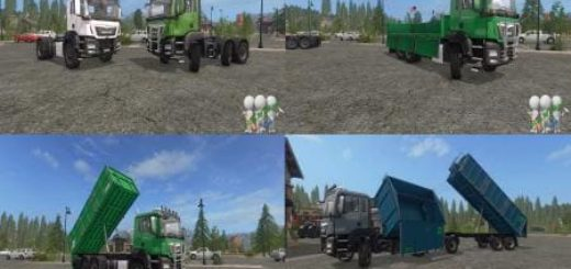 Мод ПАК MAN AGROTRUCK PACK DH BY BONECRUSHER6 V2.0 FS17