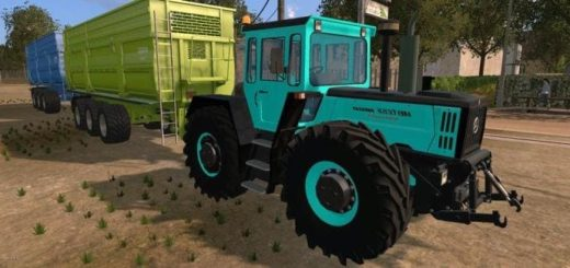 Мод трактор MB Trac 1800 intercooler v1.0 Farming Simulator 17