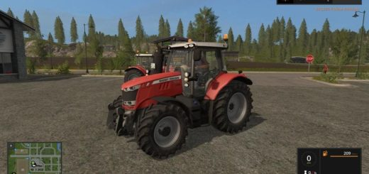 Мод трактор Massey Ferguson 6613 v1.1.0 Farming Simulator 17