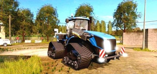 Мод трактор New Holland T9.700 Smart Trax v1.0.0 Farming Simulator 17