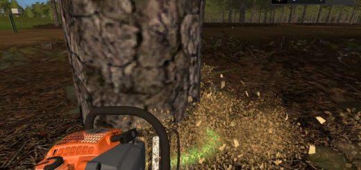 Мод пила OLEOMAC 956 V1.0 Farming Simulator 17