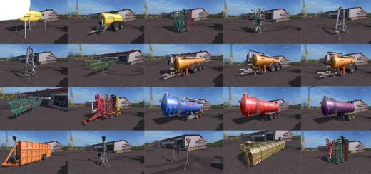 Мод ПАК Slurry pack v7.0.0.2 Farming Simulator 17