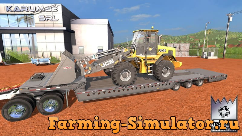 Мод трал TRAIL KING 110HT V1.0.0.2 Farming Simulator 17