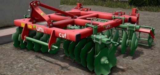 Мод культиватор UNIA CUT L 2.8 M V1.1 Farming Simulator 2017