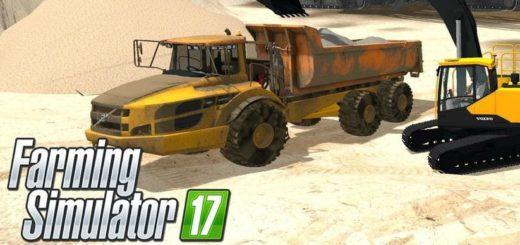 Мод Volvo A40 v0.5 Farming Simulator 17