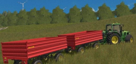 Мод прицеп ZMAJ 489 NEW V1.0 Farming Simulator 17
