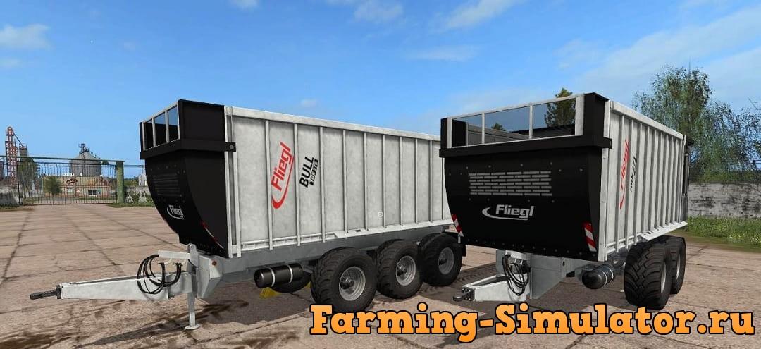 Мод ПАК Fliegl TMK Bull 271/376 V1.0 Farming Simulator 17
