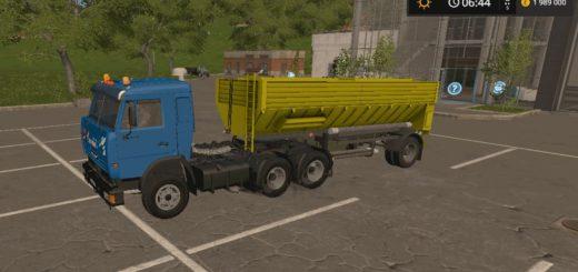 Мод прицеп Fortschritt HLS 100 48 11 v 1.0 Farming Simulator 17
