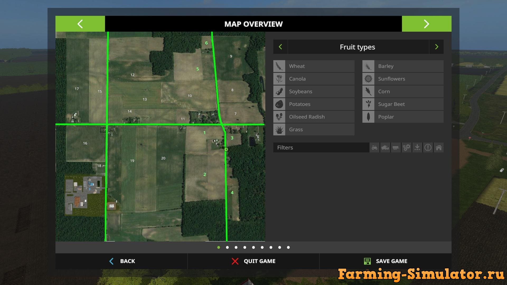 Мод карта BLAKE FARM MAP V1.0.0.0 FS17